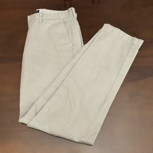 J. Crew Men's 32x34 Sutton Pants Grey